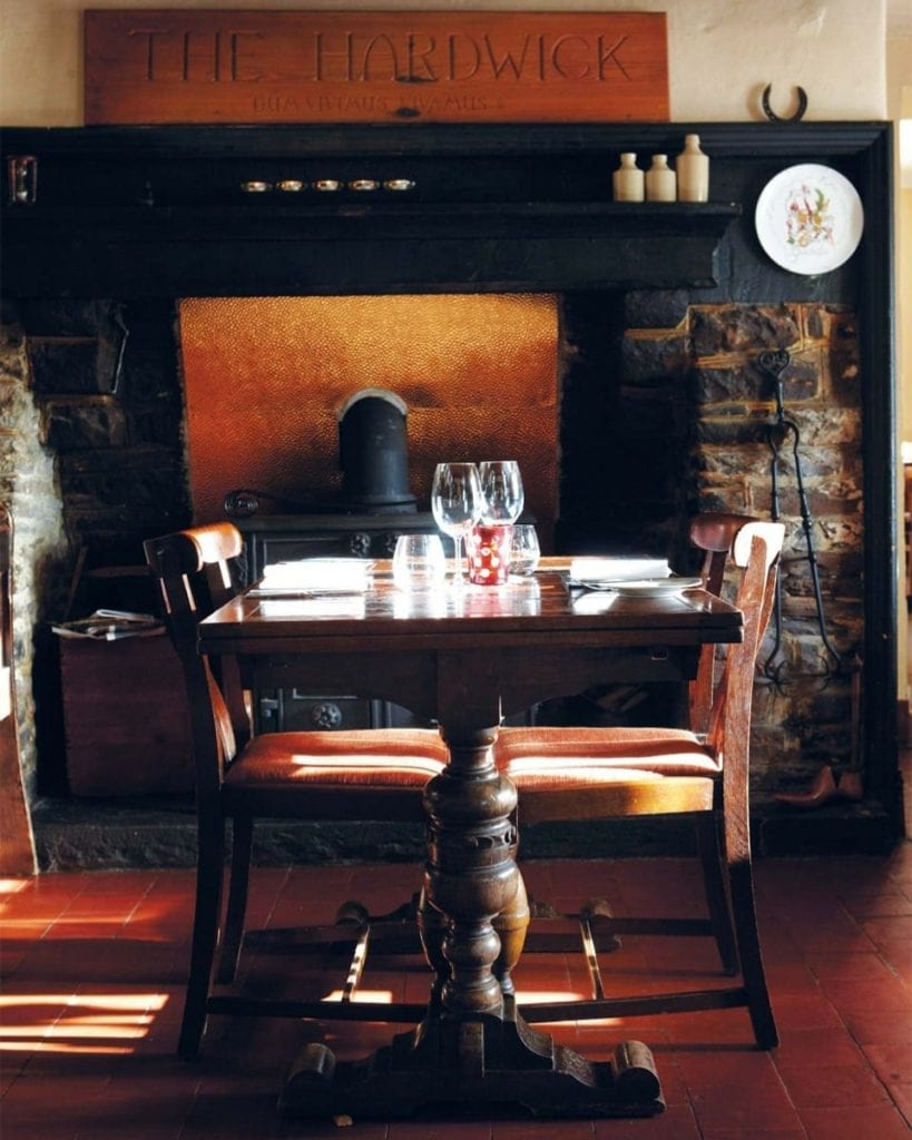 Fireplace at The Herdwick