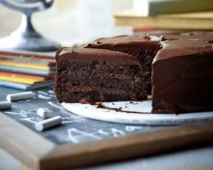 Bruce Bogtrotter chocolate cake image