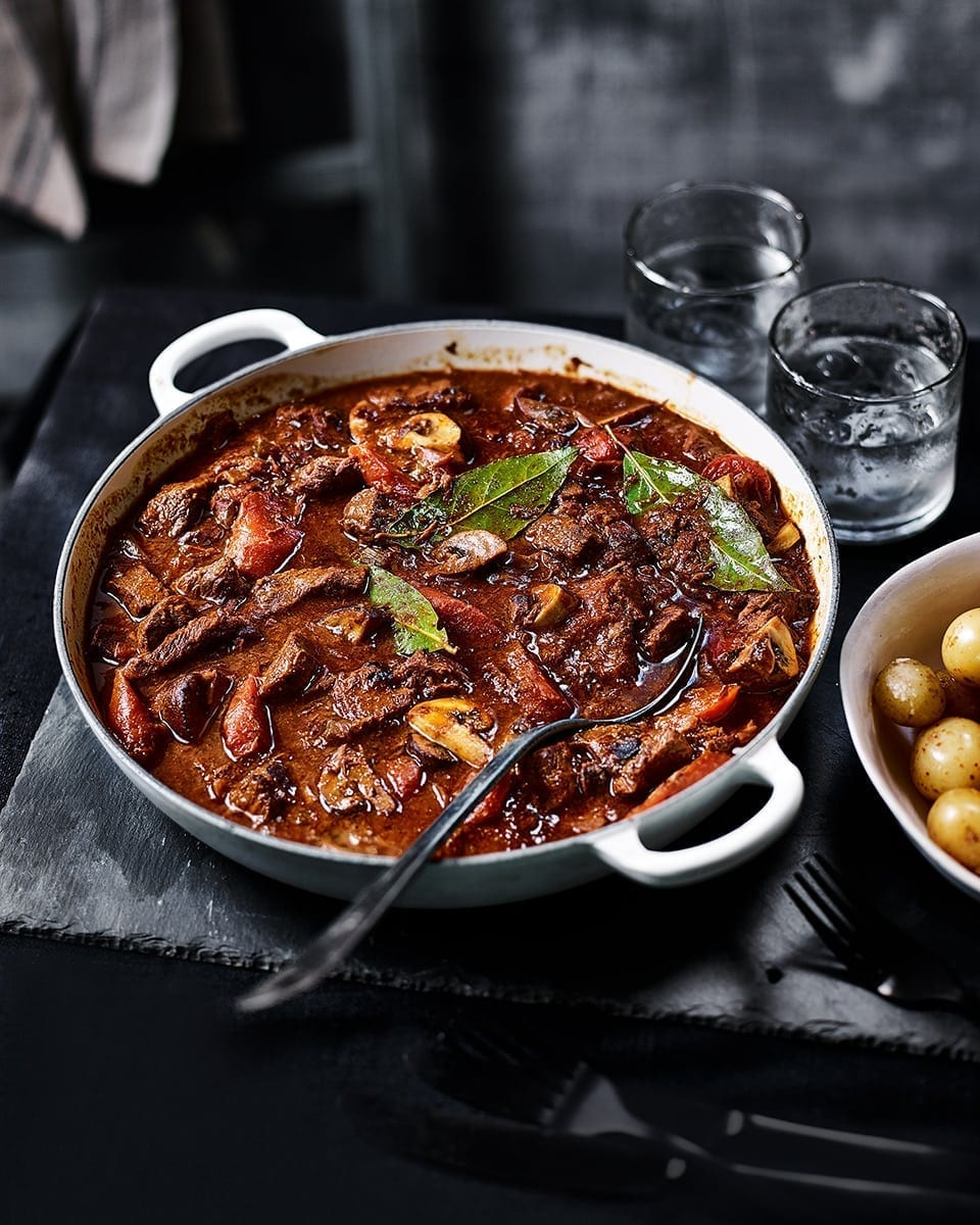 Vic's slow-cooked beef stew
