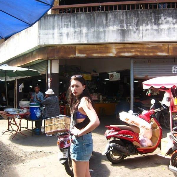 Izzy in Thailand