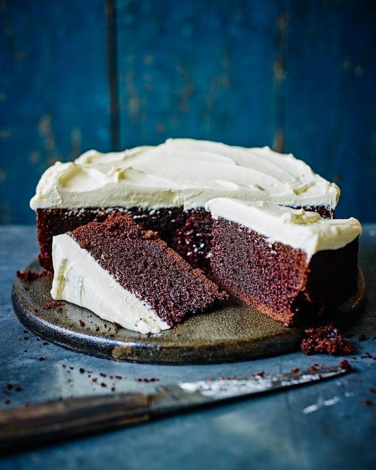Chocolate porter cake