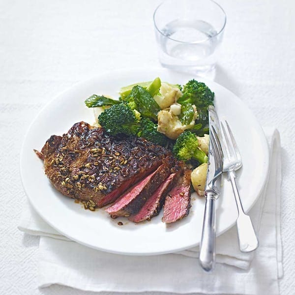 Image of steak and veg