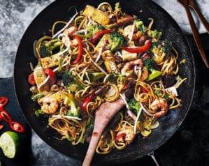 Sichuan stir-fry