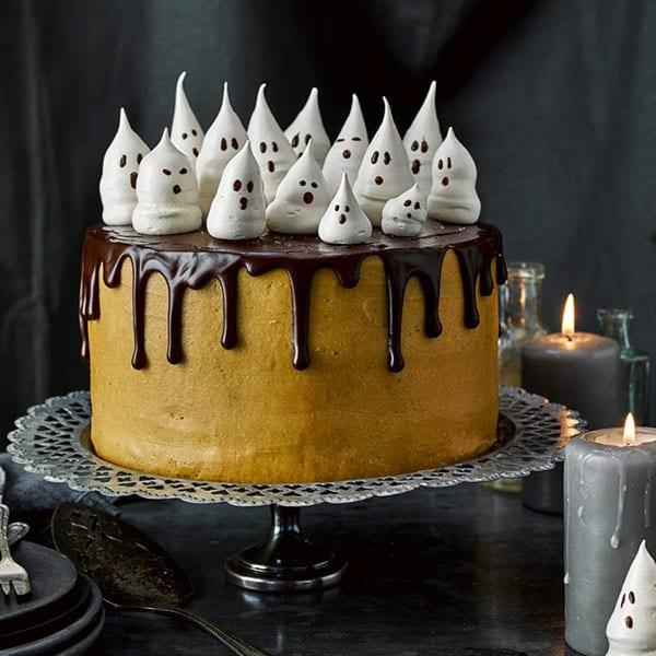 halloween ghost cake