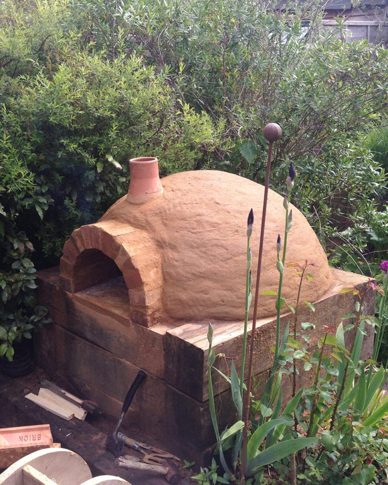 How To Build A Wood Fired Pizza Oven Delicious Magazine