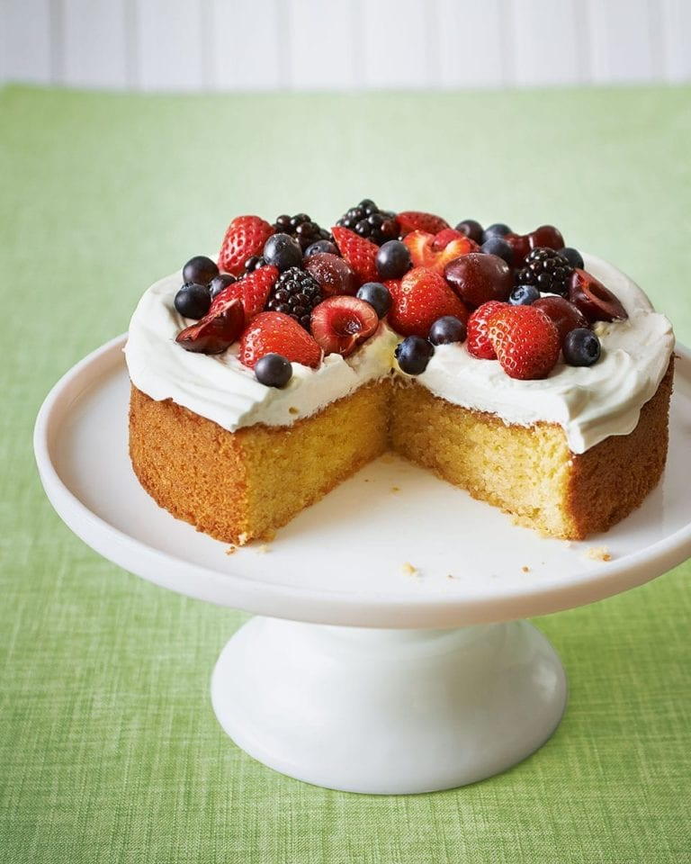How to make a genoise sponge