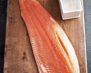 How to skin and pin bone fresh salmon