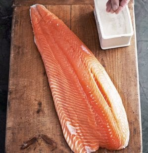 How to skin and pin bone fresh salmon