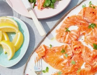 Cumin-cured salmon