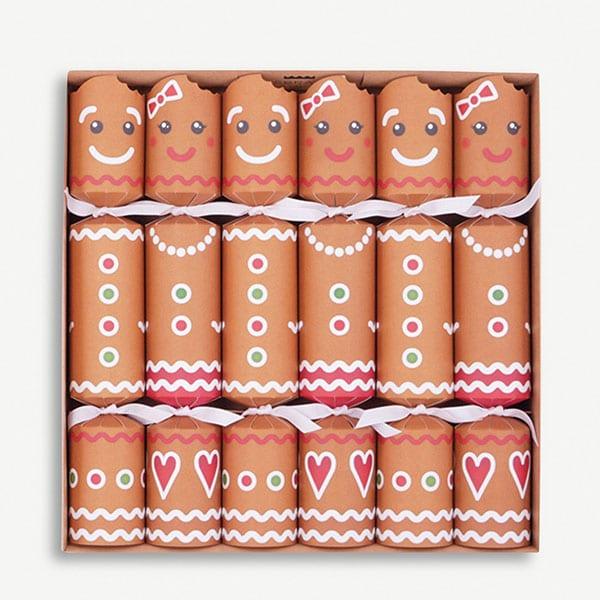 Gingerbread crackers