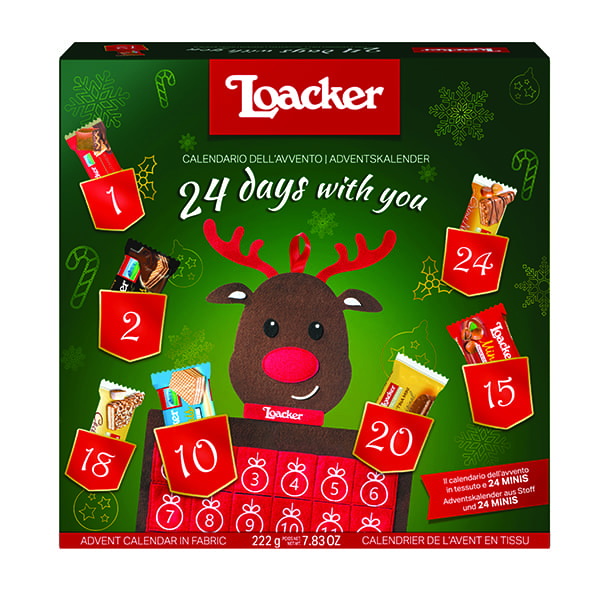 Loacker wafer calendar