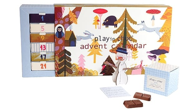 Play in choc advent
