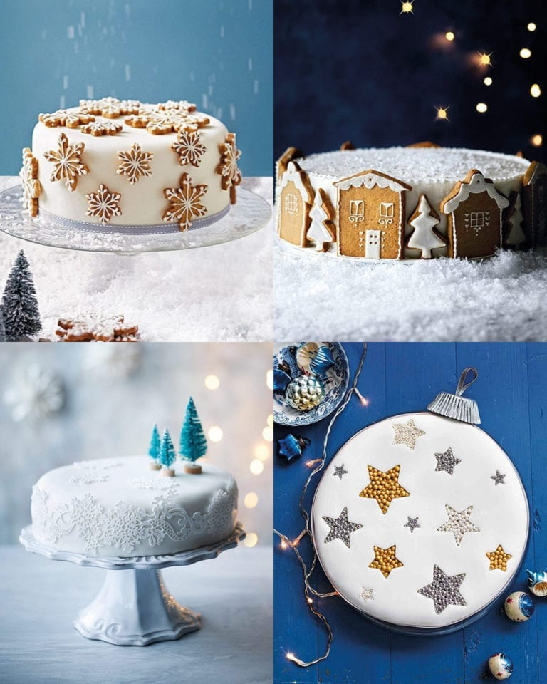 10 ways to decorate your Christmas cake