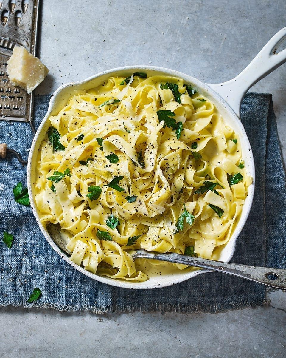 Fettuccine alfredo recipe | delicious. magazine