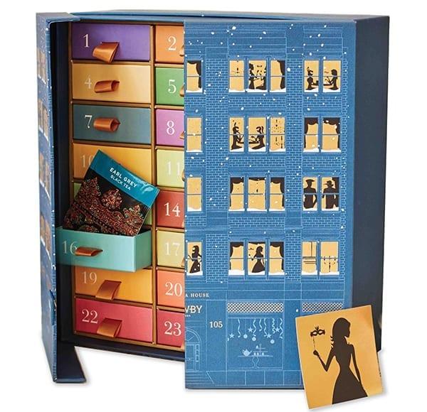 Newby tea calendar