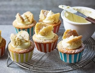 Easy butterfly cakes