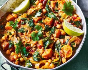 Vegan curry video