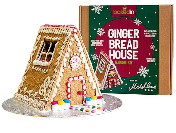 Baked in gingerbread