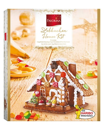 Lidl gingerbread house