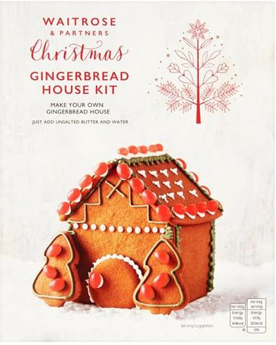 Waitrose Gingerbread House