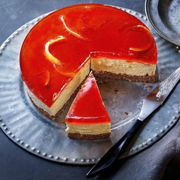 Negroni cheesecake