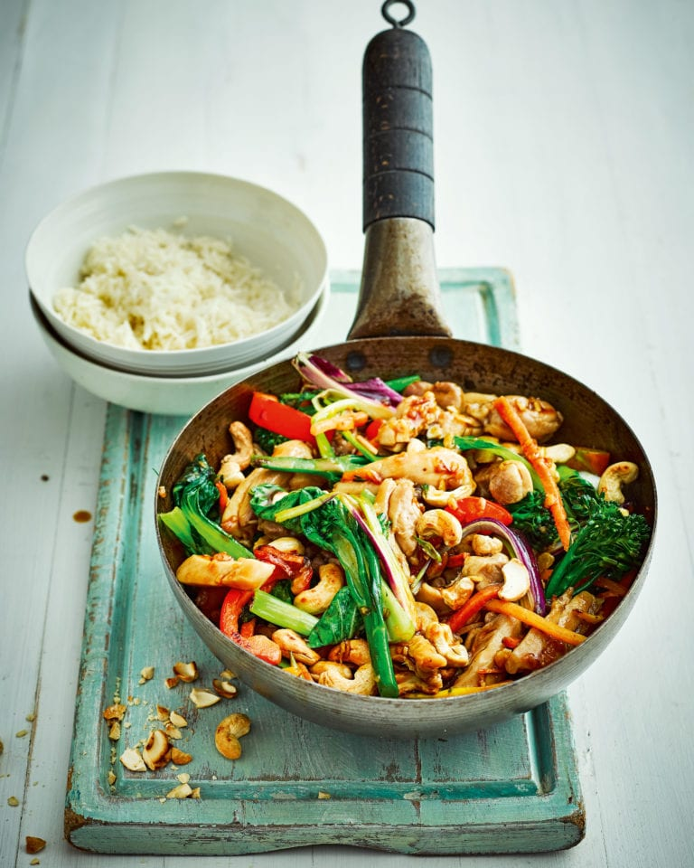 Chicken Ginger And Oyster Sauce Stir Fry Recipe Delicious Magazine