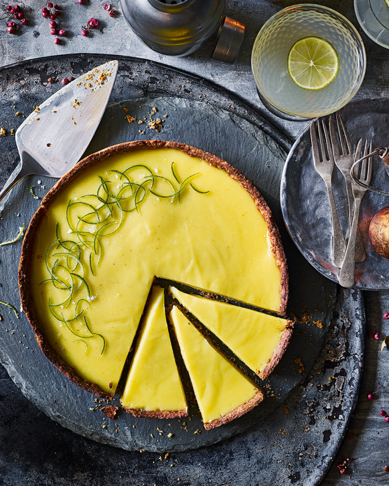 Gin and lime 
