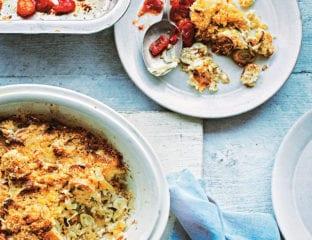 Tortino di porri e riso (leek and rice bake)