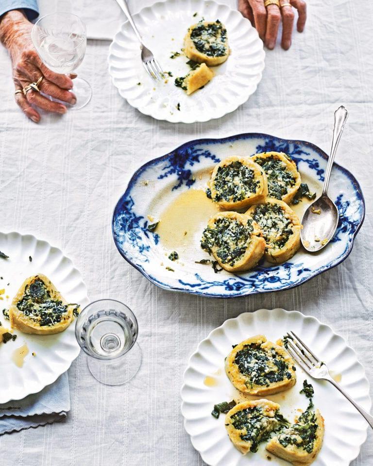 Rotolo di spinaci (spinach roll)