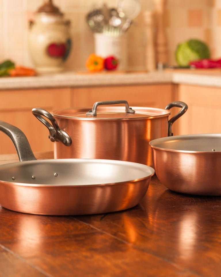 Win a Falk Culinair copper cookware set, worth £640
