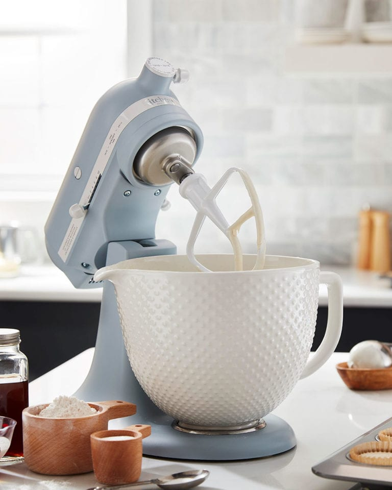 Win a KitchenAid Misty Blue Stand Mixer, worth £699