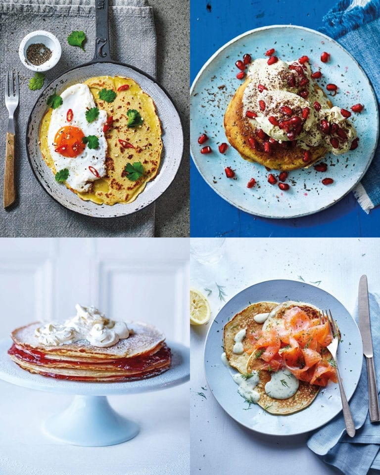 10 sweet and savoury pancake toppings