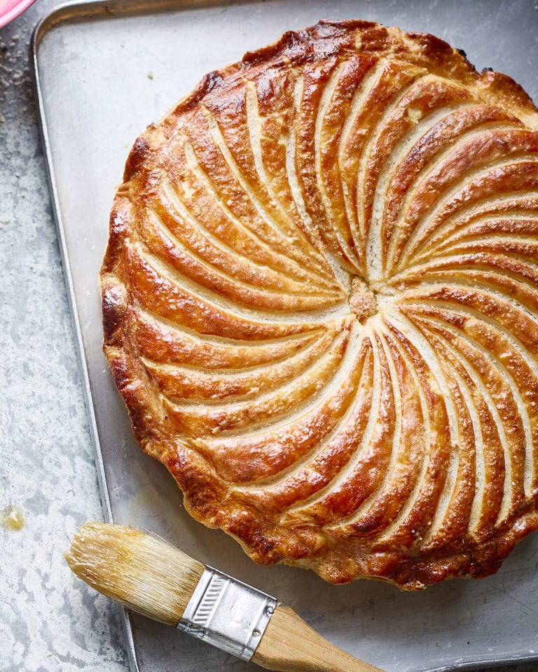Classic almond pithivier