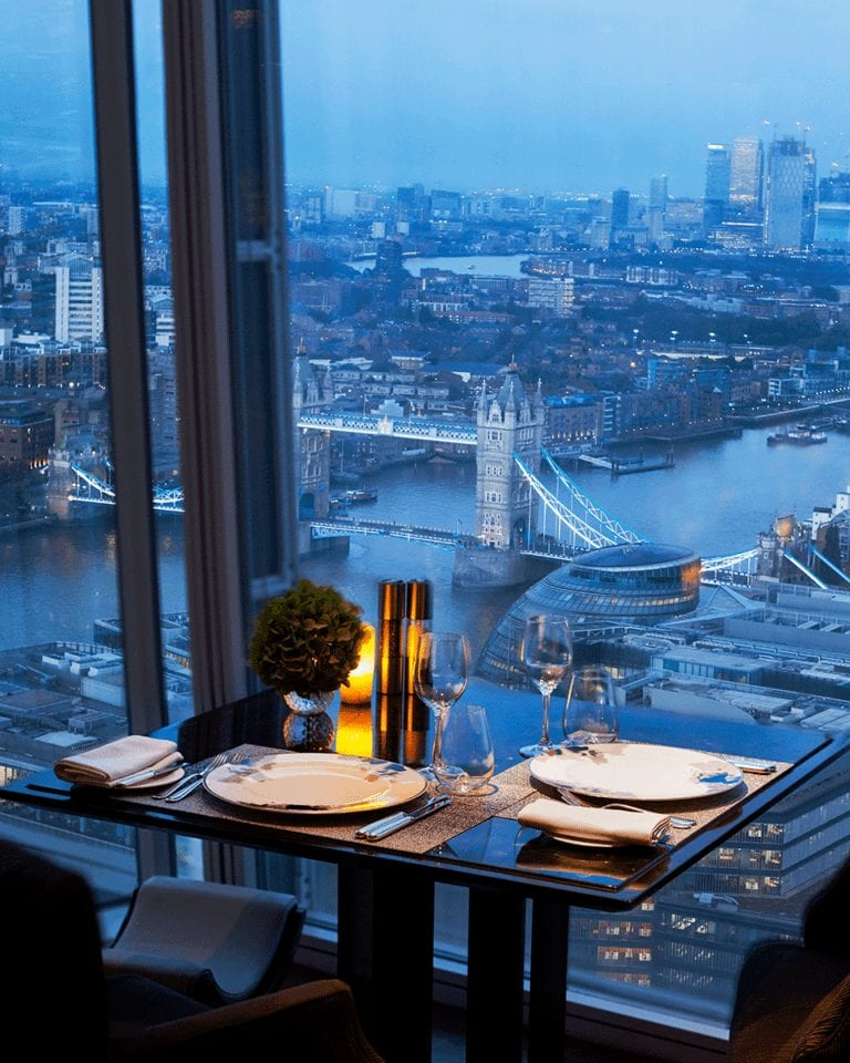 Win a £500 luxury dining experience at The Shard with Shangri-La Hotel