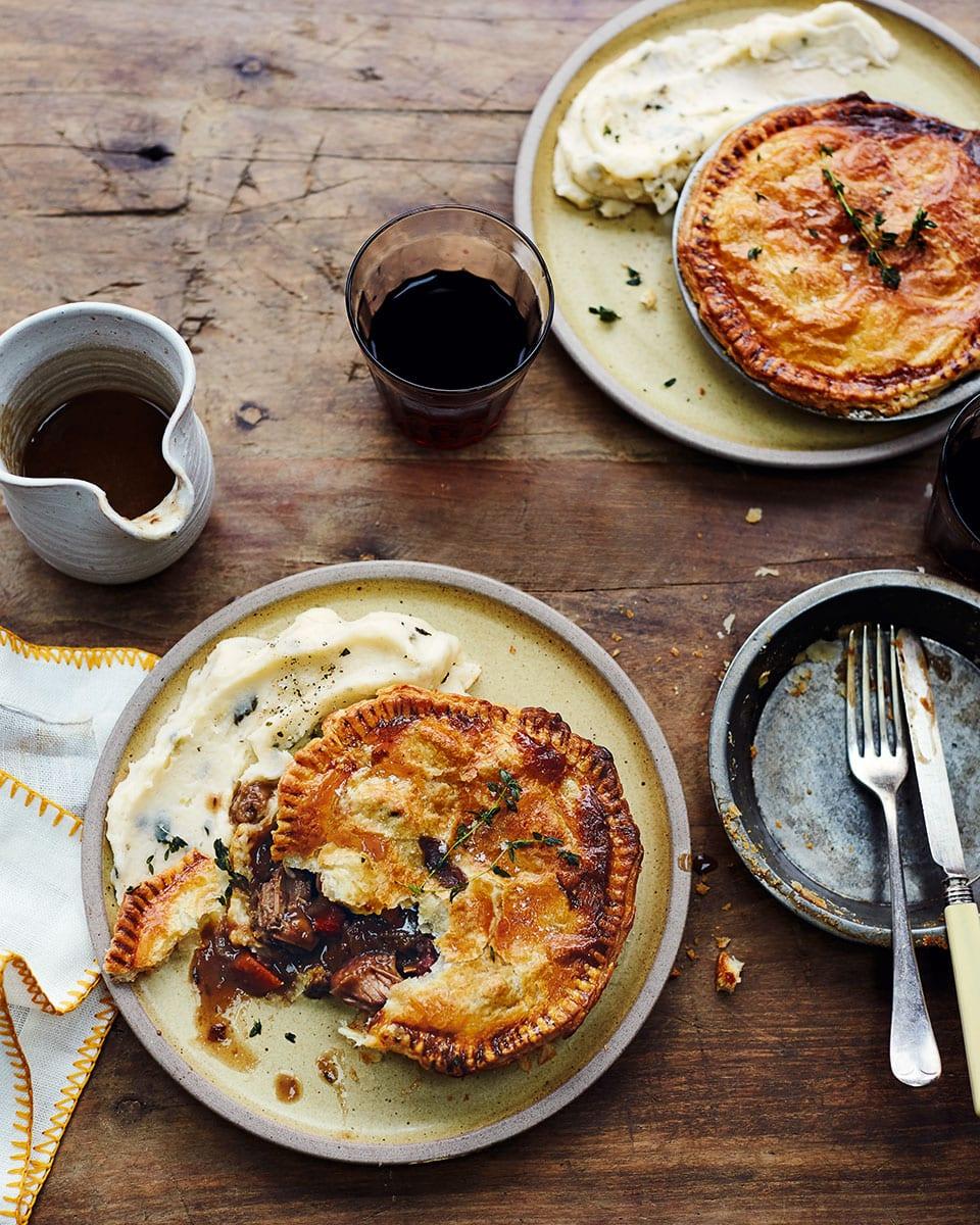 Beef bourguignon pies | delicious. magazine