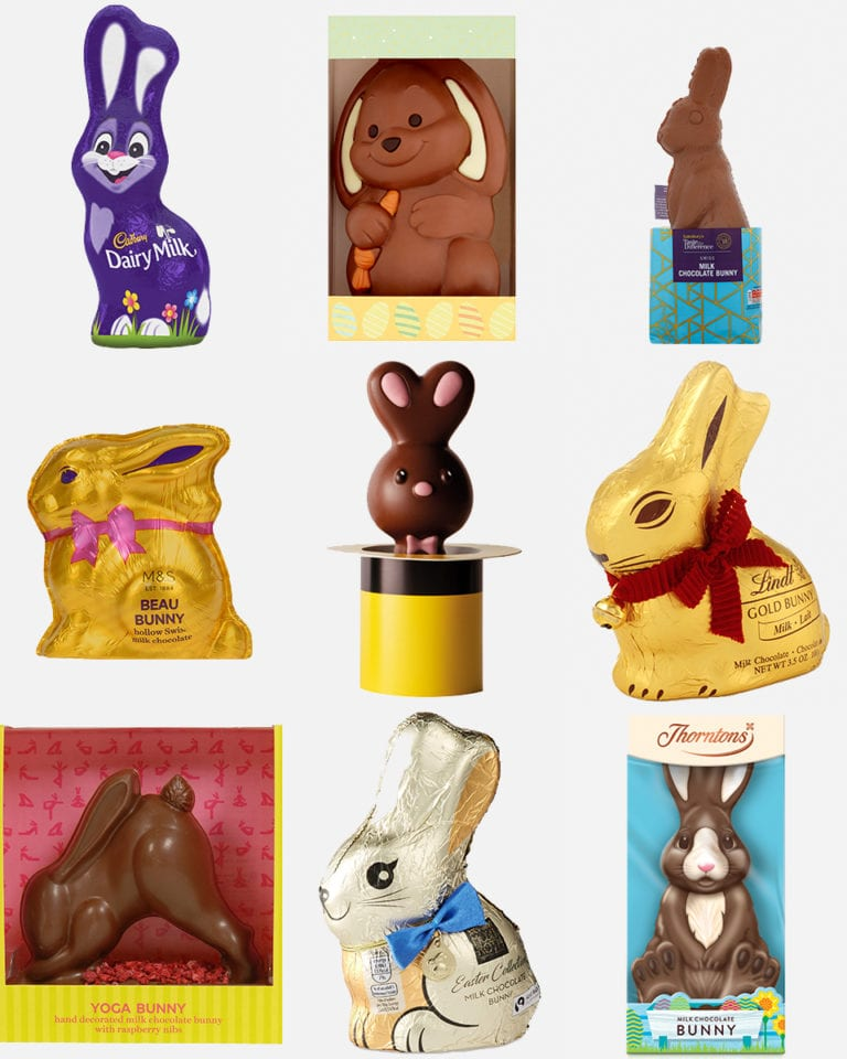 Tried and tested: Chocolate bunnies
