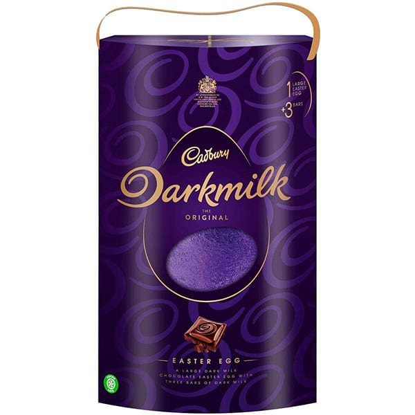 cadbury darkmilk easter egg