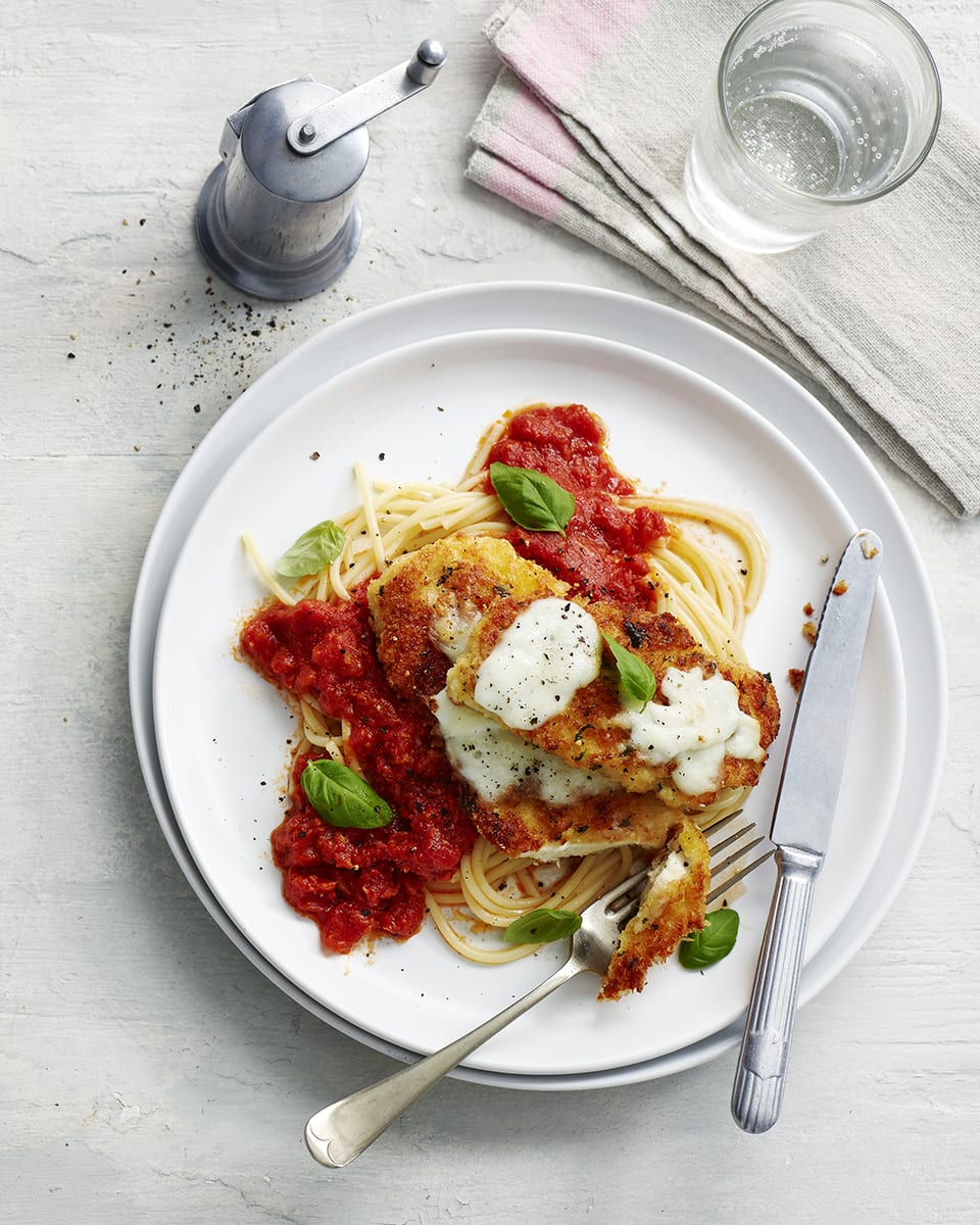 Chicken Parmigiana Recipe Delicious Magazine
