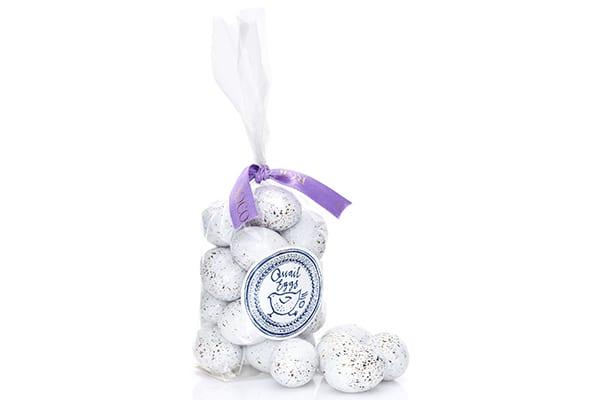 Rococo chocolate eggs