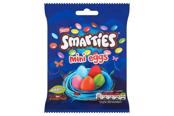 Smarties eggs