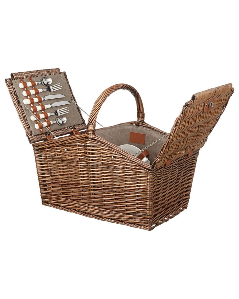 Win one of five picnic hampers, each worth over £100