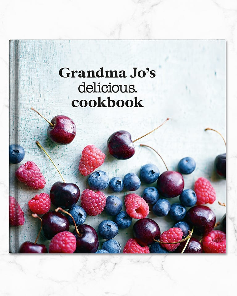 Create a delicious. cookbook for you or a friend