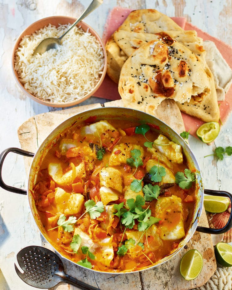 South Indian-style fish curry