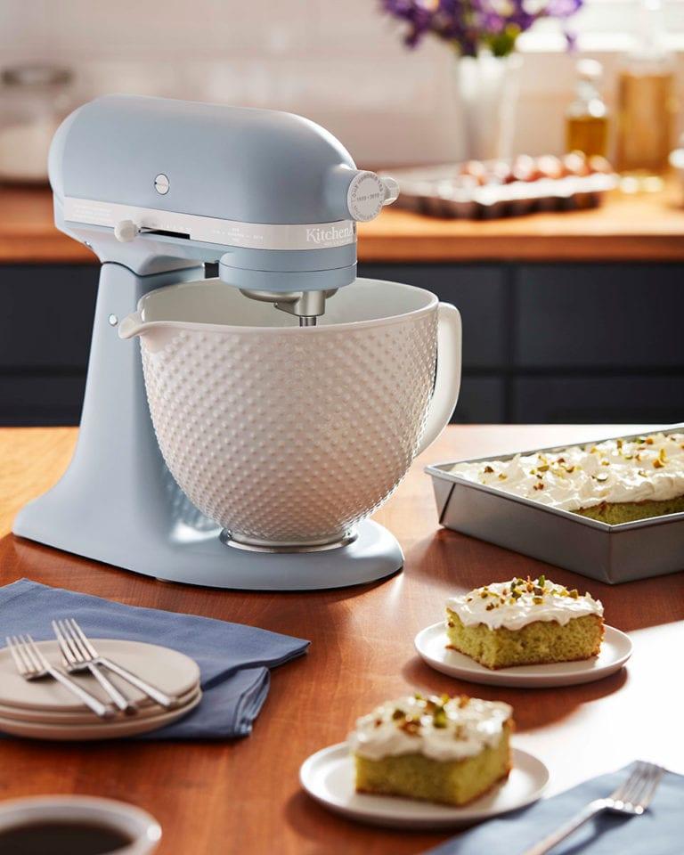 Win a KitchenAid Misty Blue Stand Mixer