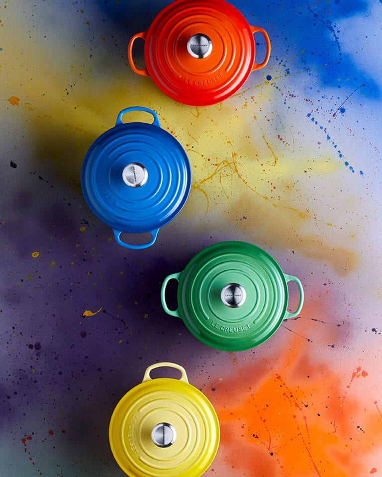 Win one of seven Le Creuset bundles, each worth over £500