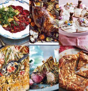 4 three-course menus for April