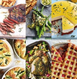 4 three-course menus for May