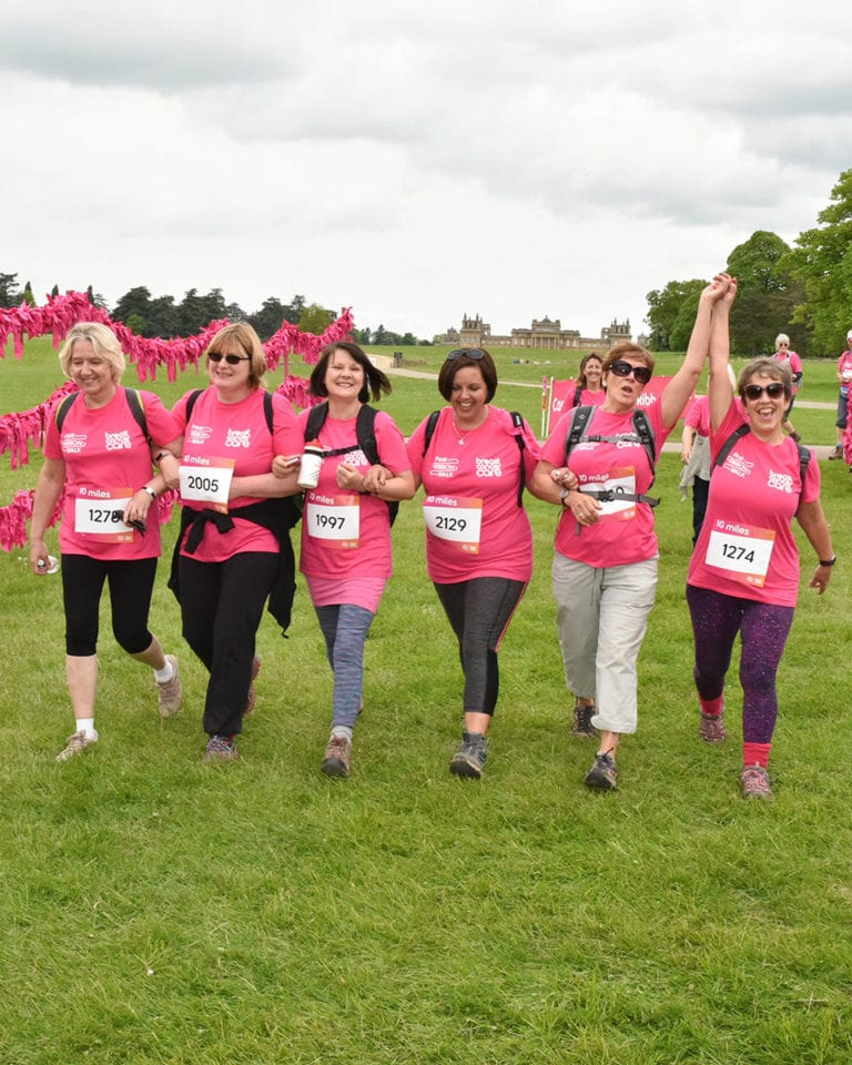 Take part in Breast Cancer Care's Pink Ribbon Walk