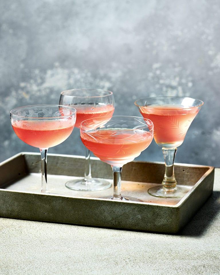 Super-easy rhubarb vodka