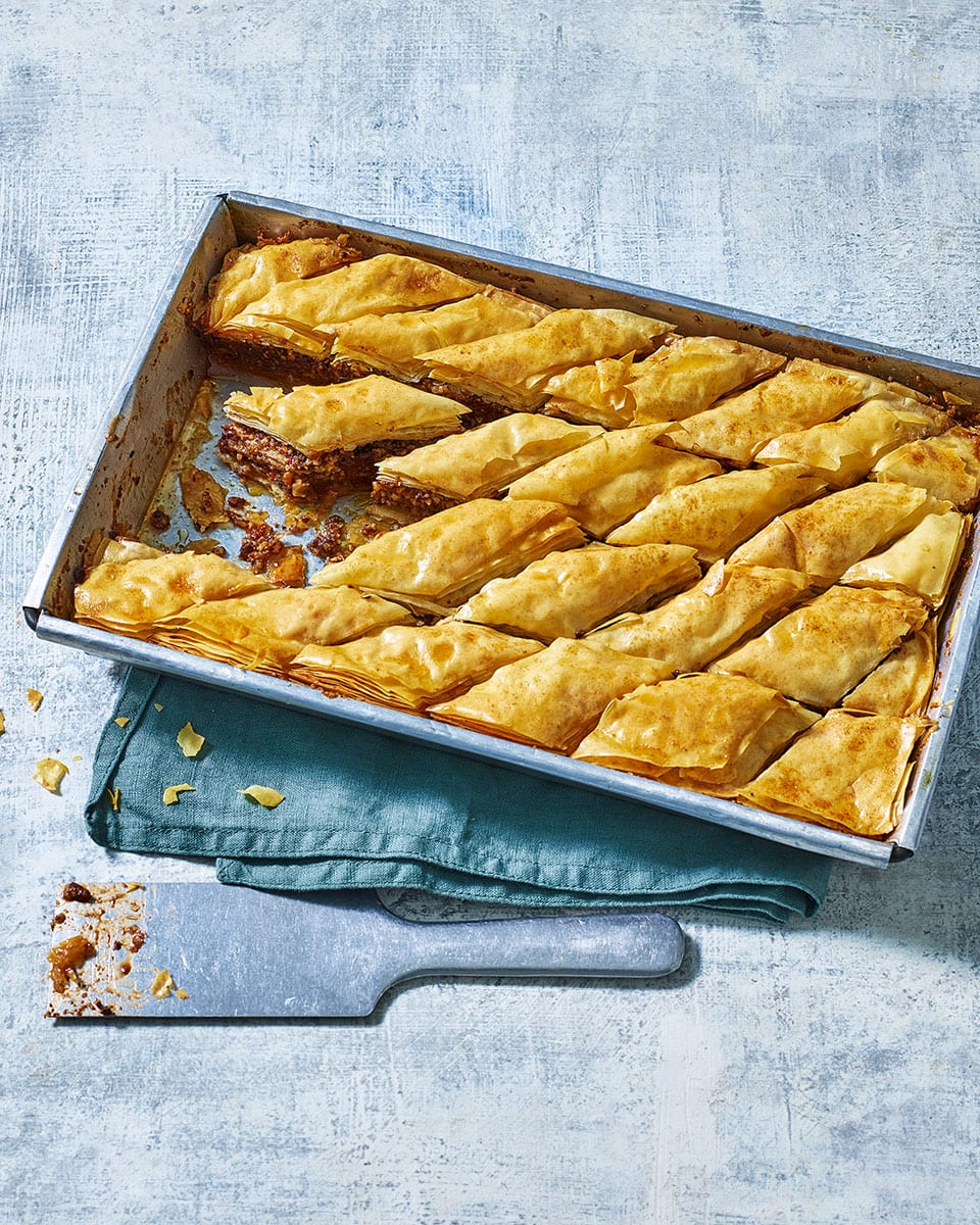 Chocolate Baklava Recipe Delicious Magazine